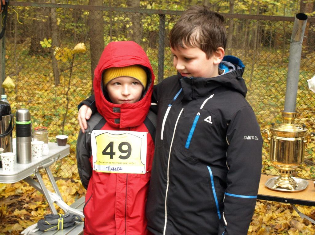 С пятикилометровой дистанцией справились с легкостью и будущие чемпионы.