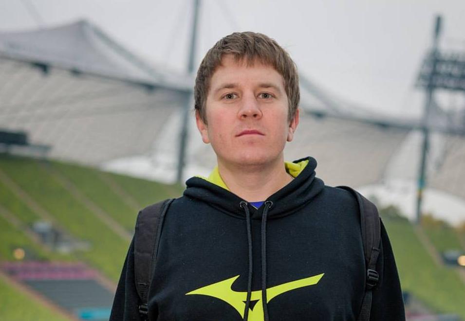 Павел Мишинев, бегун-любитель и автор статьи, на своем 4-ом марафоне.
