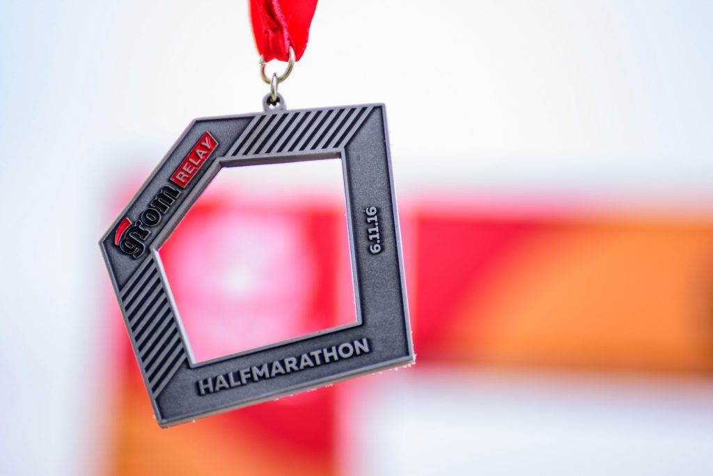 Последняя медаль GROM бегового сезона 2016