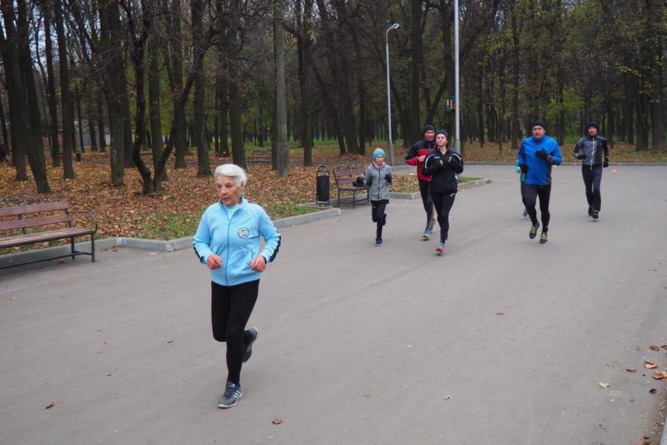 Анна Петровская из Рязани - обладатель рекорда рейтинга возрастных групп - 27:17.