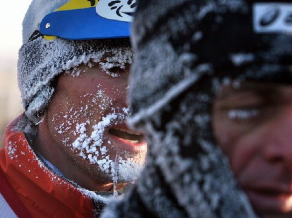 Омский Рождественский полумарафон – испытание бегом и морозом