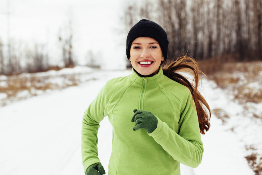 Running in winter
