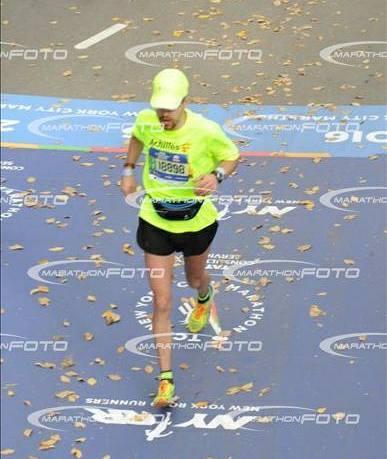 Финиш Нью-Йорского марафона 6 ноября 2016
