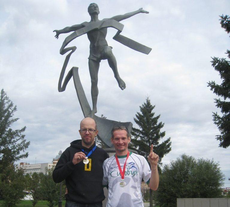 После Сибирского международного марафона SIM в Омске (сентябрь, 2013)