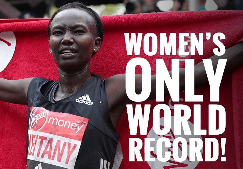 Mary Keitany на марафоне в Лондоне установила новый мировой рекорд