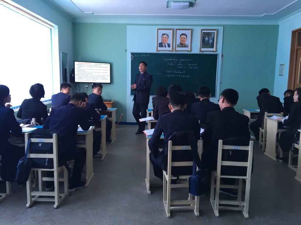 В школе на уроке Английского языка