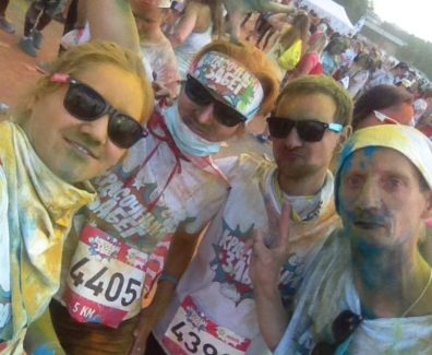 colorrun moscow 2017