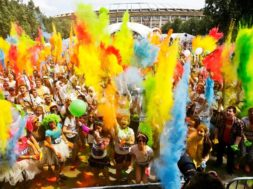 color running moscow marathon