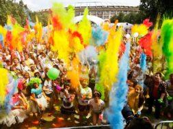 color running moscow marathon