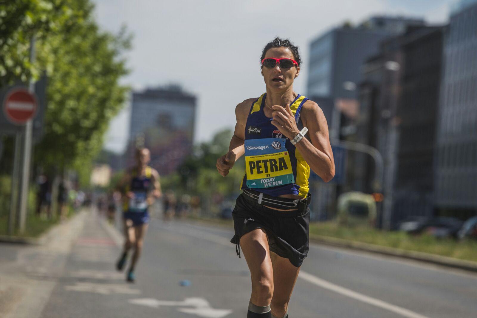 Лучшая чешка на Prague marathon 2018 Petra Pastorova