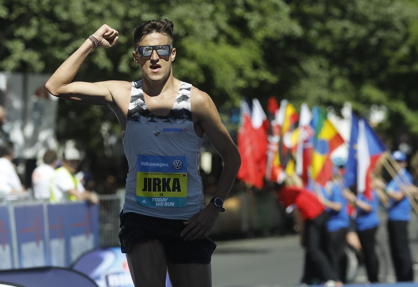 Лучший чех на Prague marathon 2018 Jiri Homolac