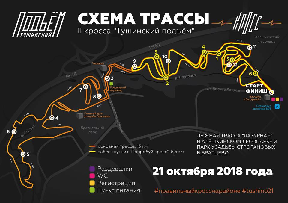 tushino cross Тушино кросс 2018
