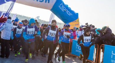 honor vladivostok ice run 1