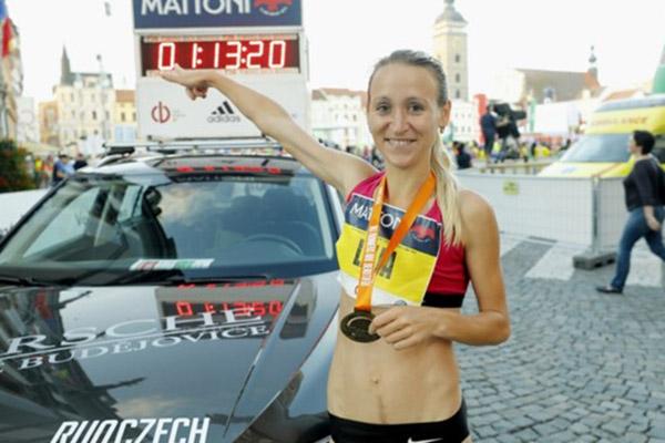 RunCzech EuroHeroes Lilia Fisikovich