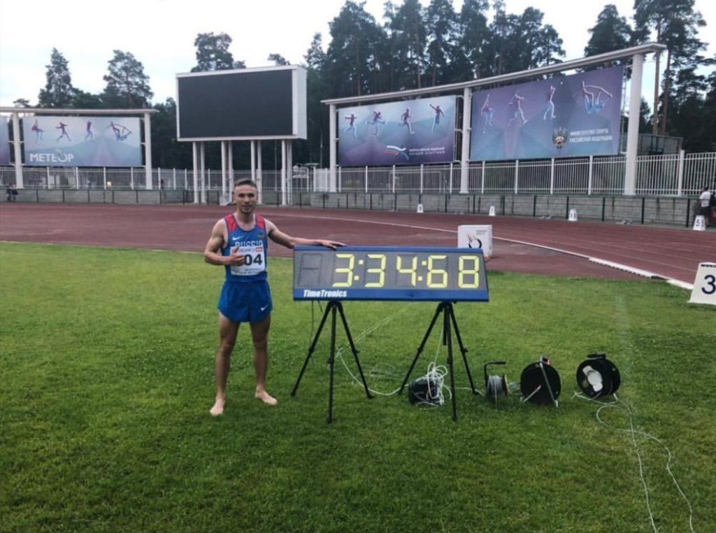 Vladimir Nikitin Владимир Никитин Лучший результат 1500м Олимпийский норматив и норматив на Чемпионат мира