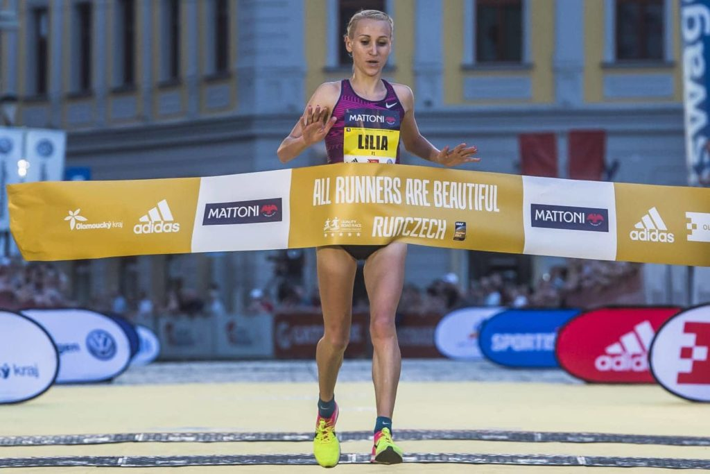 lilia fisikovici olomouc half marathon runczech