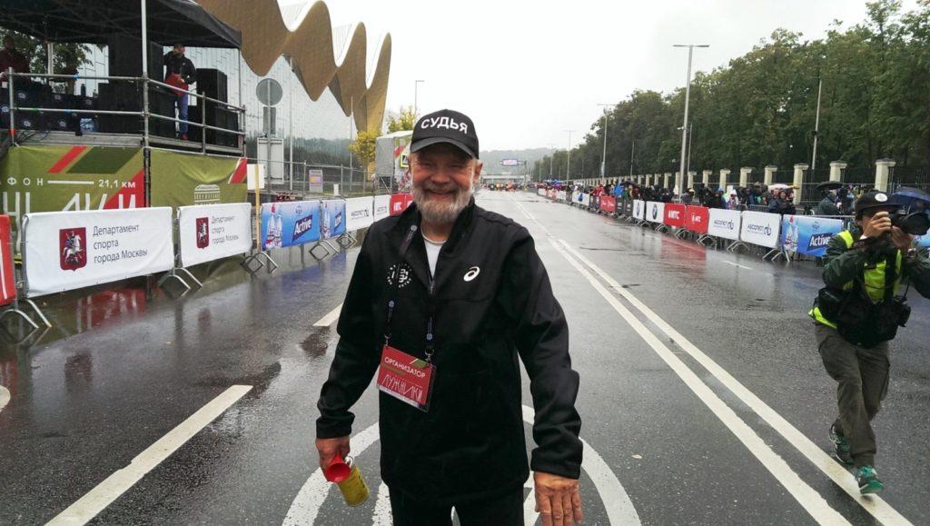 luzhniki halfmarathon 2019 judge