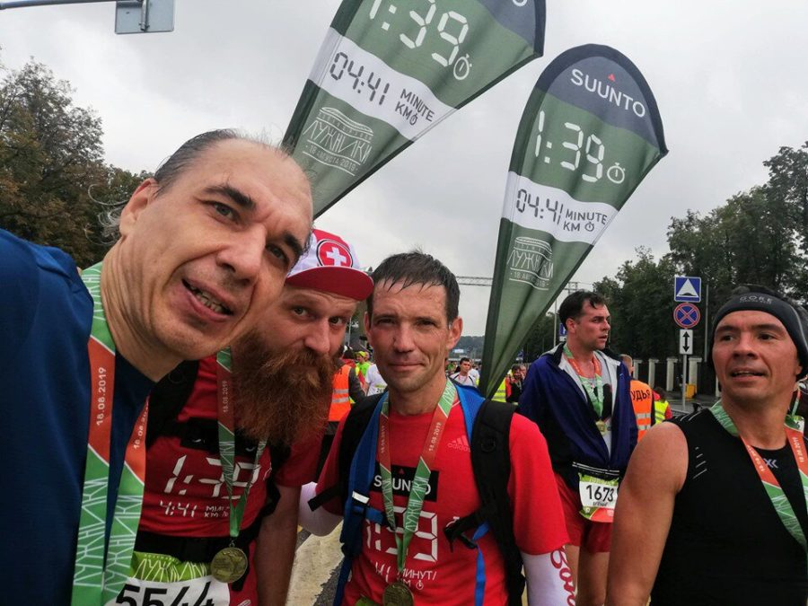 luzhniki halfmarathon 2019 klimkovsky