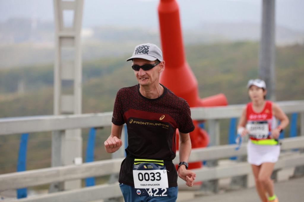 Pavel Krysanov galaxy vladivostok marathon 1