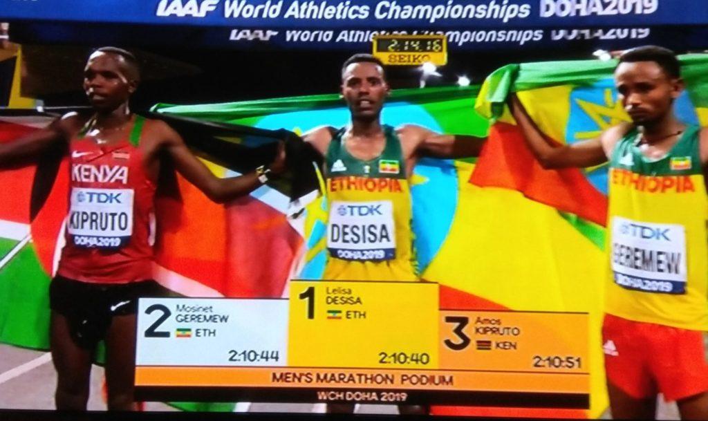 doha 2019 marathon winner