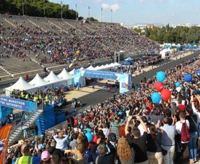 4-Athens Marathon_Finish Inside the Panathenaic Stadium