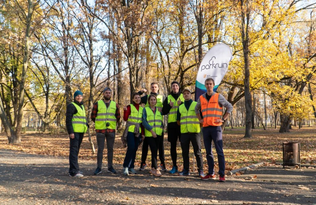 parkrun krasnodar team volunteer