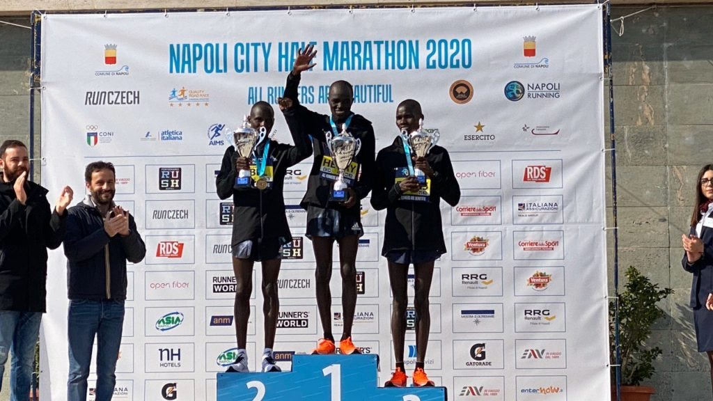 Napoli HM 2020 best 3 men