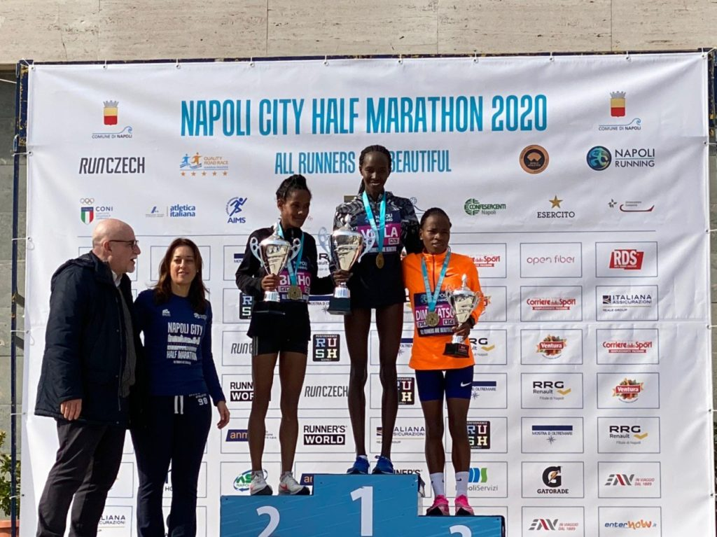 Napoli HM 2020 best 3 women