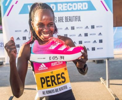 Prague Half Marathon world record