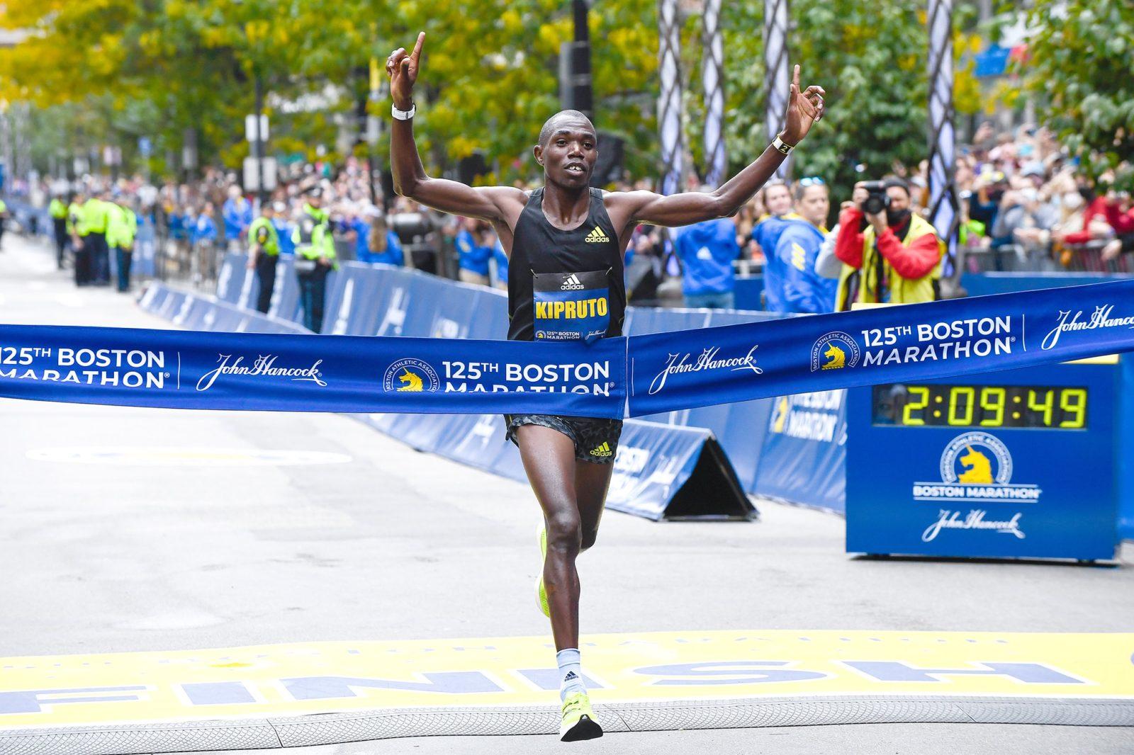 Бостонский марафон 2021. Результаты
