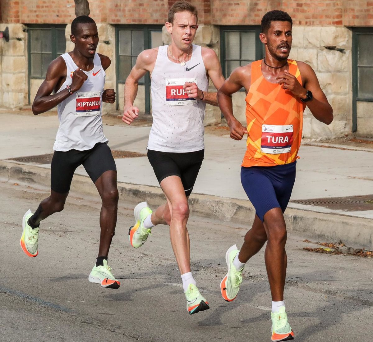 Чикагский марафон 2021. Результаты